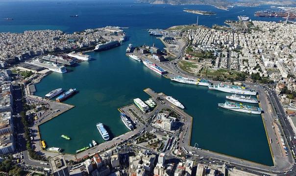 Автомобильная экскурсия по Афинам: порт Пирей, Палео Фалиро