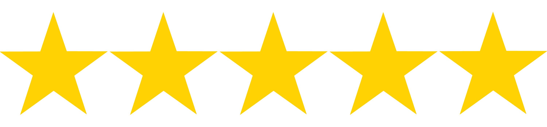 Five stars icon 24