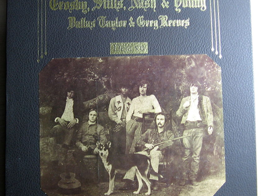 Crosby, Stills, Nash & Young - Deja Vu  - 1970 Atlantic SD 7200 Record Club Edition