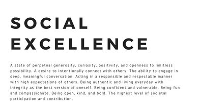 Image for Social Excellence