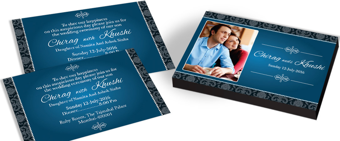 Personalised Invitation for Marriage