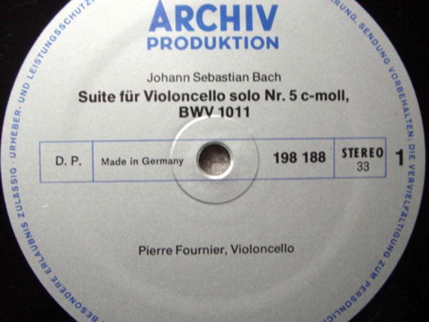 Archiv / FOURNIER, - Bach Suites for Cello Solo No.3 & 4, NM!