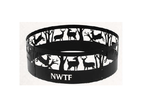Fire Ring with NWTF Logo