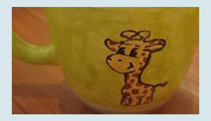 kreativ cafe momentmal tasse