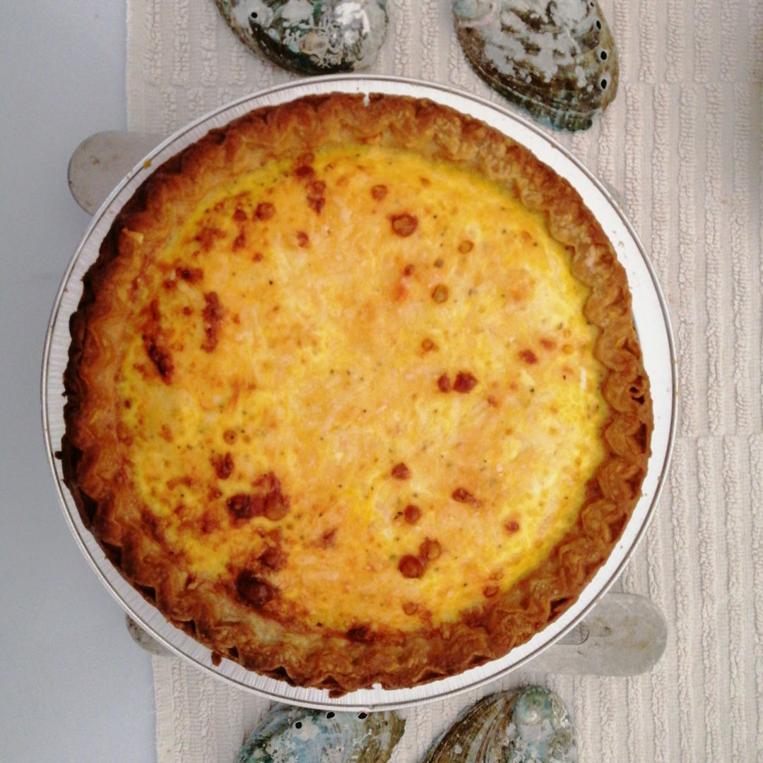 homemade quiche lorraine with a super-buttery pastry crust