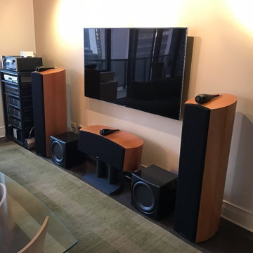 B&W, McIntosh and SimAudio Home Theater System
