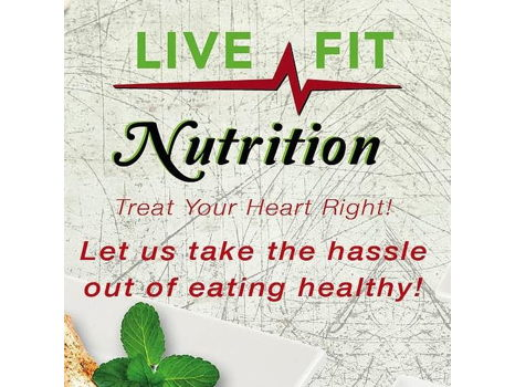 $80 Live Fit Nutrition Gift Card