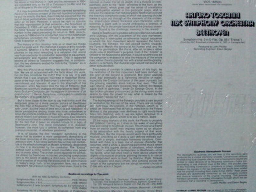 ★Sealed★ RCA Victrola / TOSCANINI, - Beethoven Symphony No.3  Eroica!