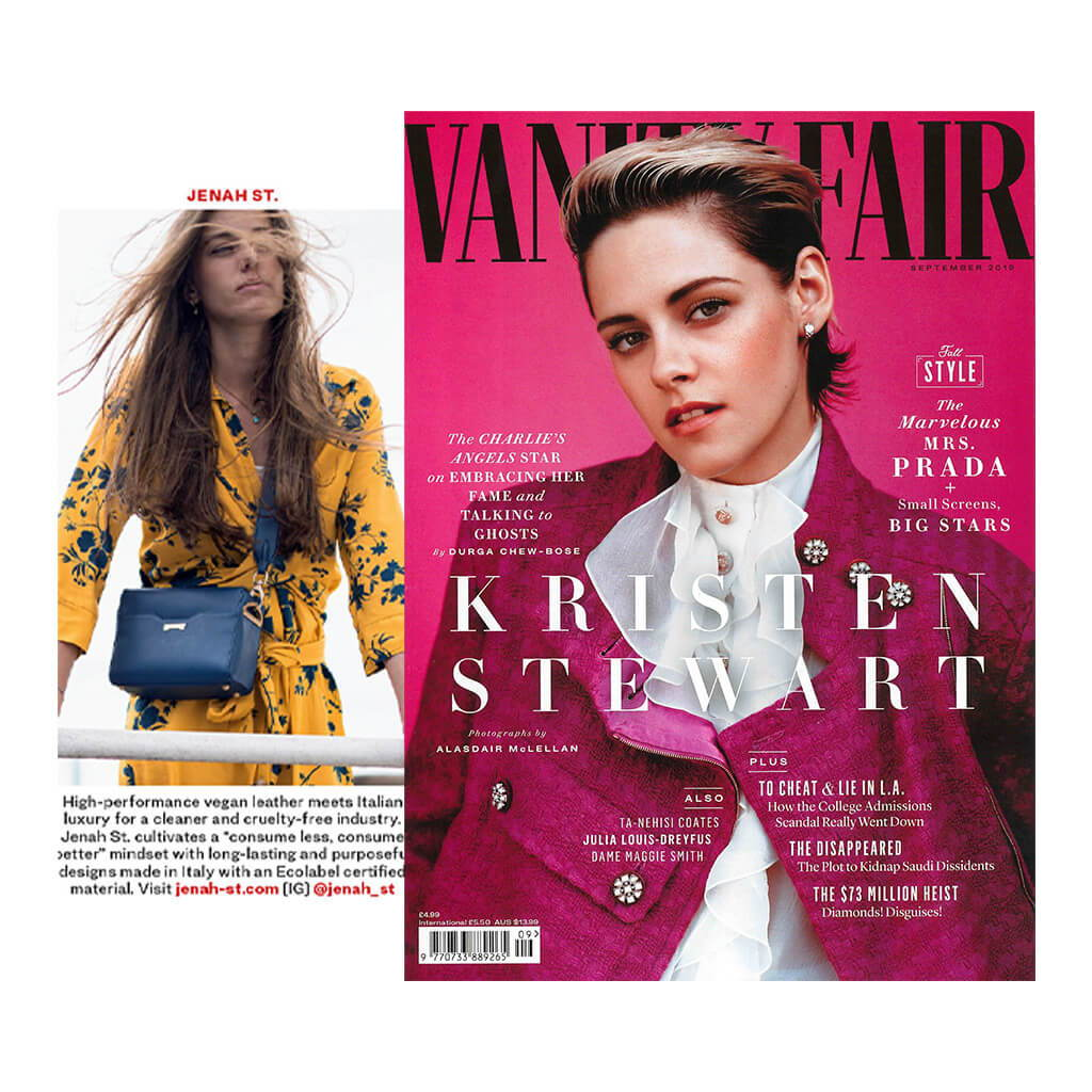 Jenah St. featured in the August issue of Vogue UK