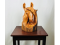 Live Edge Wood Horse Scuplture
