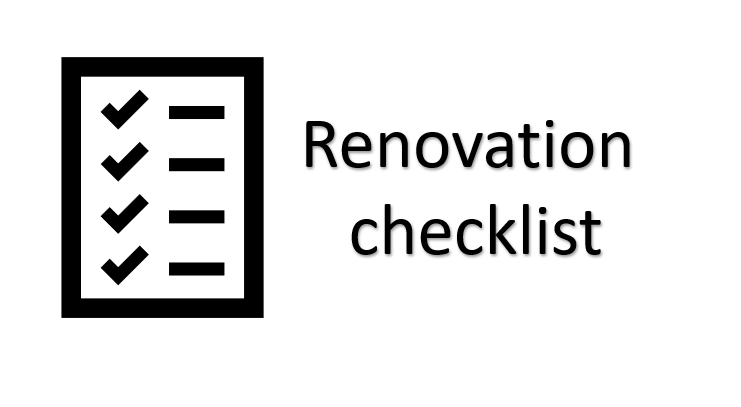 renovation-checklist