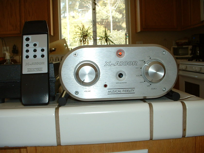 Musical Fidelity X-A100R Integrated Amp