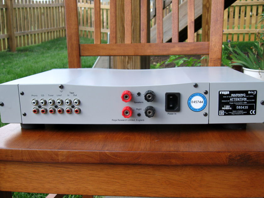 Rega Brio 3 integrated amp, excellent, see pics