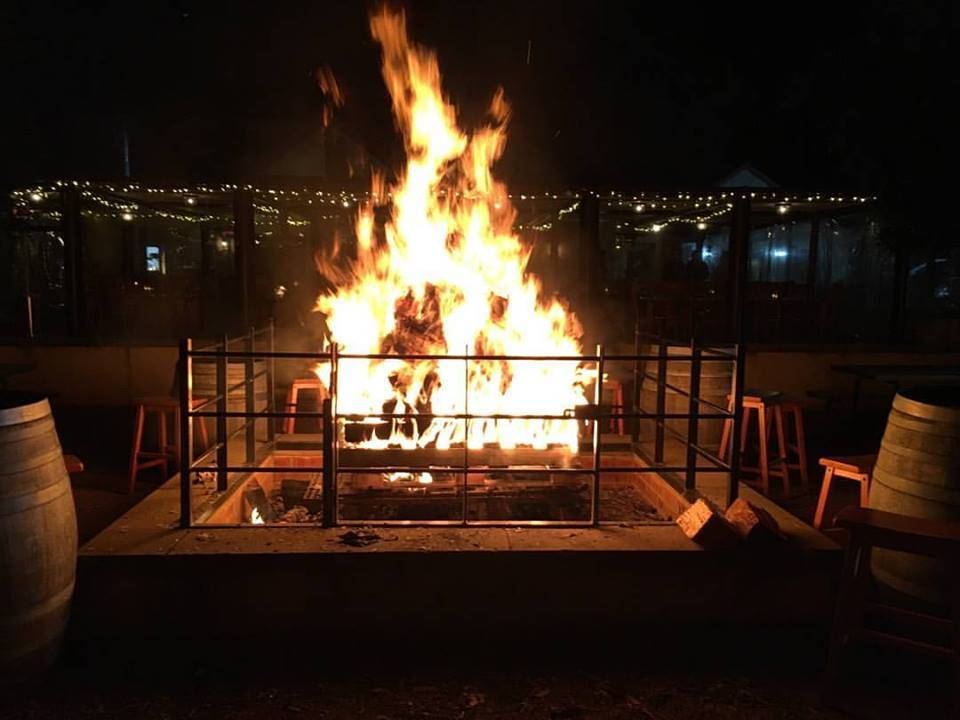 Open Fire at Blaxland Inn Hunter Valley Winery