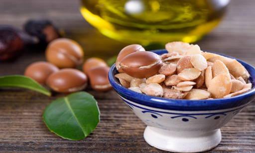 Body butter contain argan oil