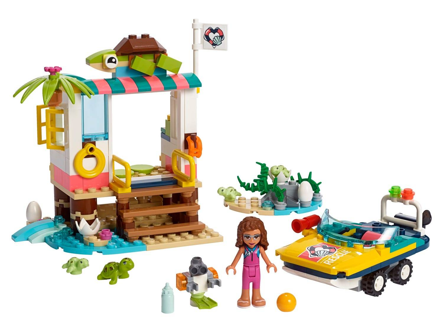 Lego Friends Turtles Rescue Mission