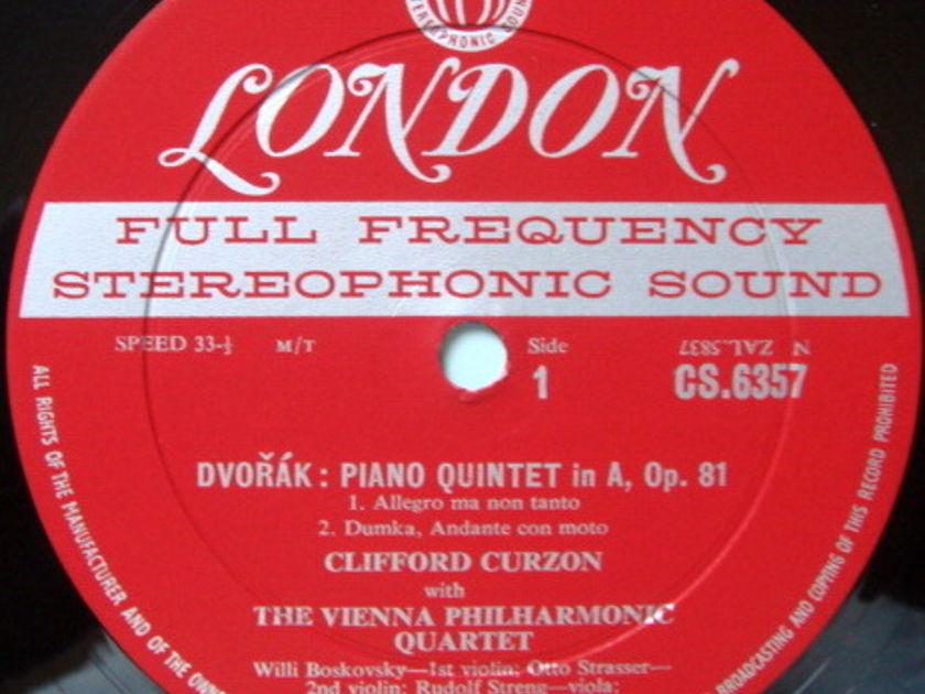 ★1st Press★ LONDON-DECCA FFSS-WB-BB / CURZON-VIENNA OCTET, - Dvorak Quintet in A, NM!