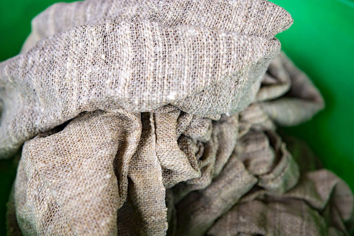 Teinture naturelle sacs accessoires éhiques chanvre