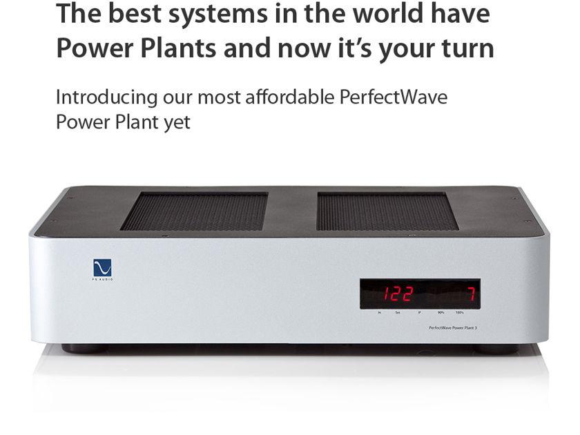 PS Audio P3  New Power regenerators available