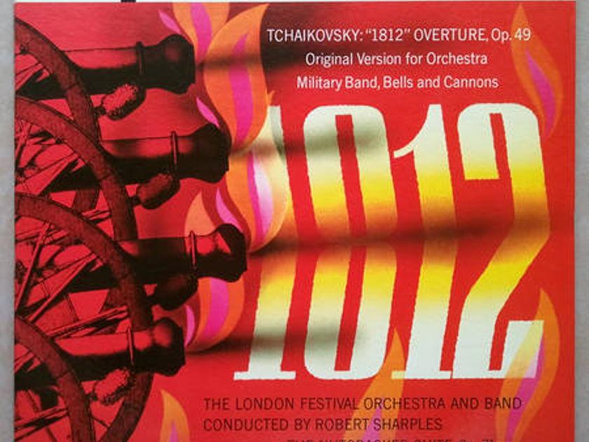 London Phase 4/Robert Sharples/Tchaikovsky - 1812, Nutcracker Suite / NM