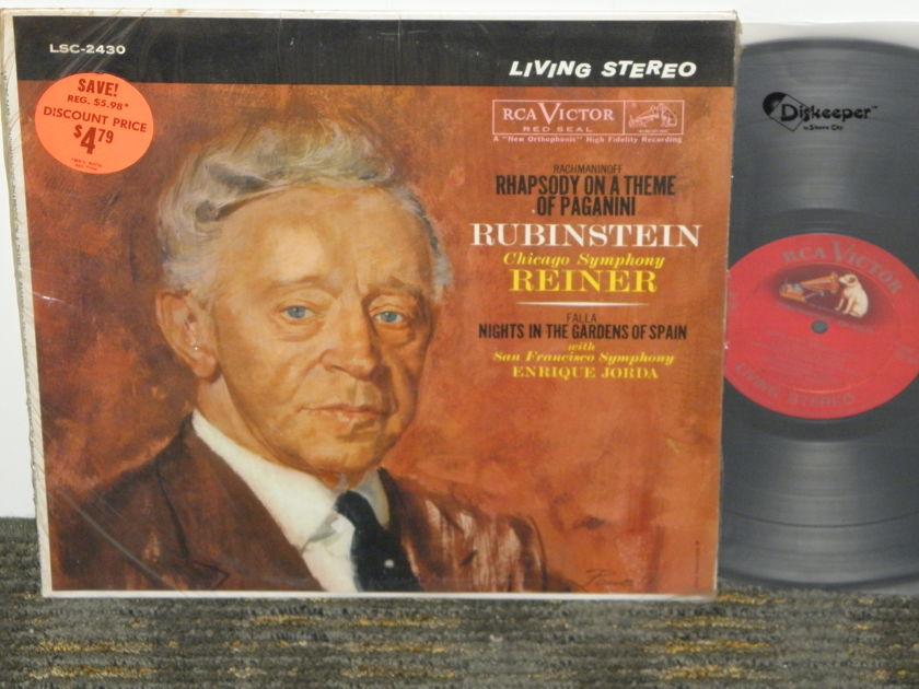 Rubenstein/Reiner/Chicago - Rachmaninoff Rhapsody Paganini RCA Shaded Dog *TAS* LSC 2430