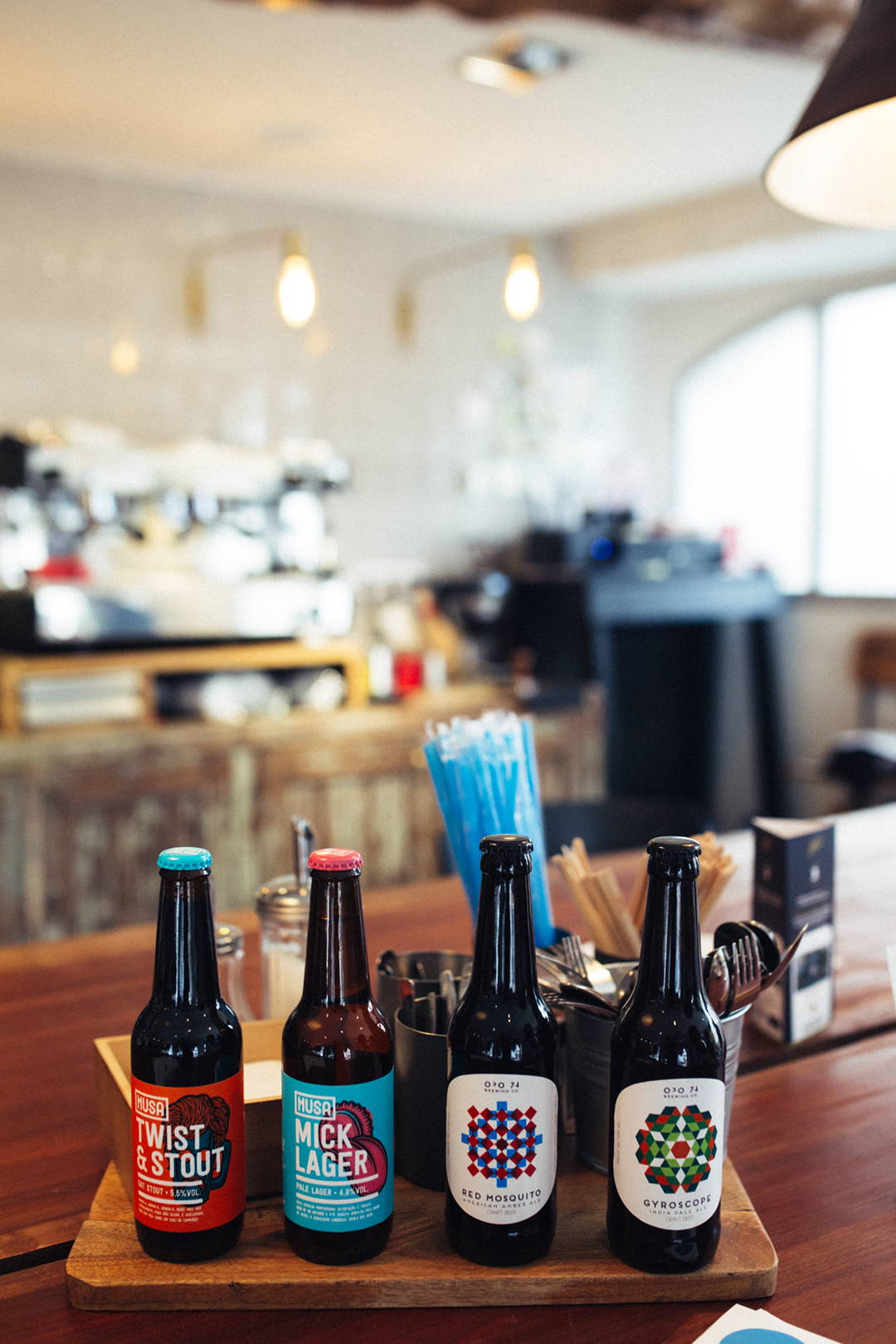 Craft beer is also served at SO Coffee Roasters café in Porto and Lisbon