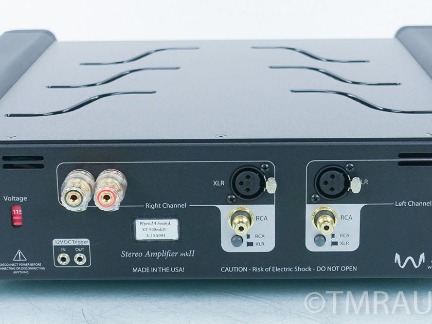 Wyred4Sound  ST-500MKII Power Amplifier (8926)