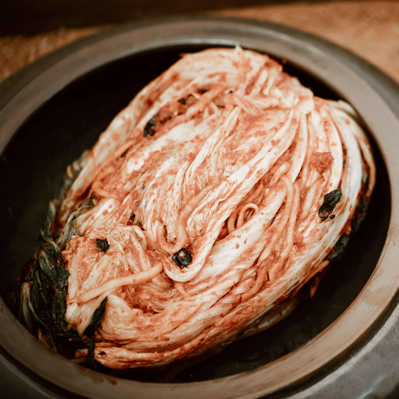 Tozaime key ingredient - Kimchi