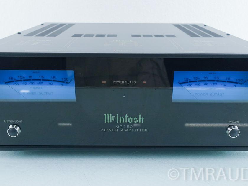 McIntosh  MC152  Stereo Power Amplifier (9122)