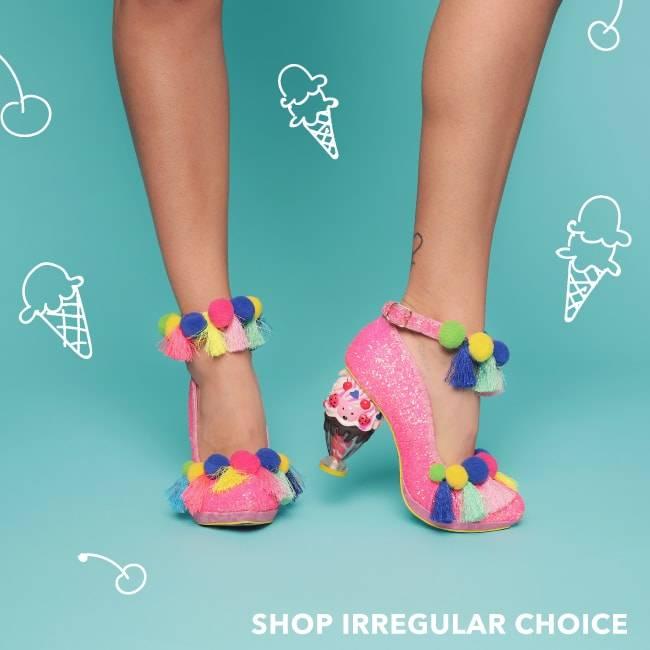 Shop Irregular Choice