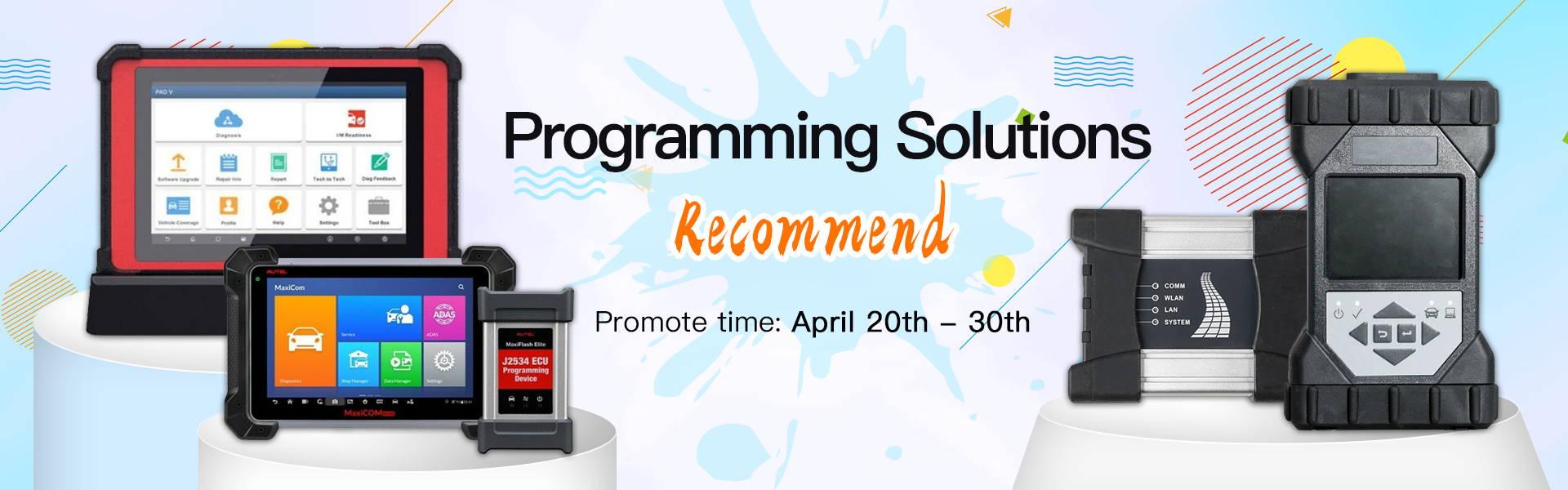 VXDAS Programming solution