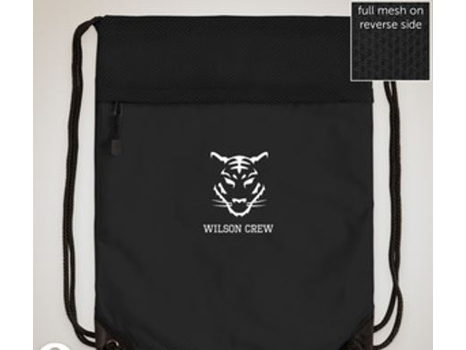 Wilson Crew Drawstring Bag