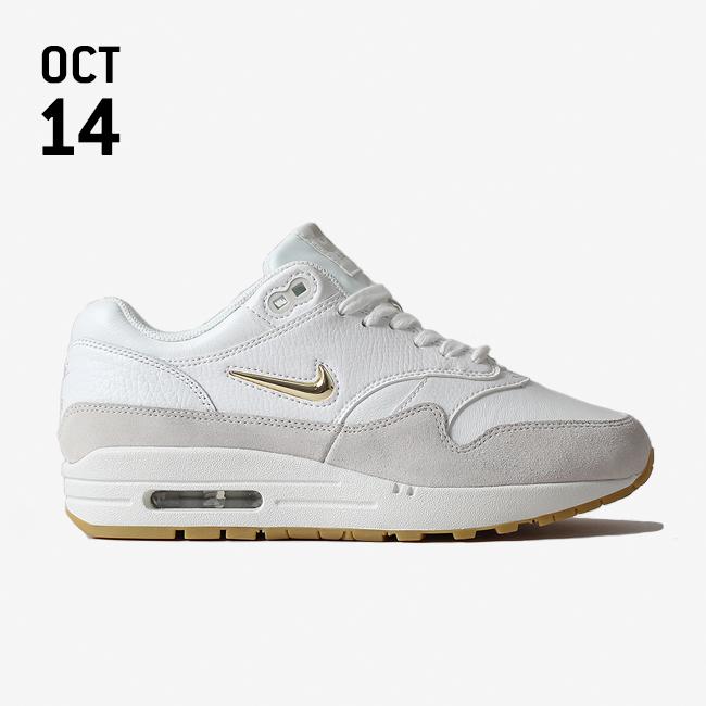 Nike Air Max 1 Premium SC Women's Lifestyle Shoes White/Brown rD9988R