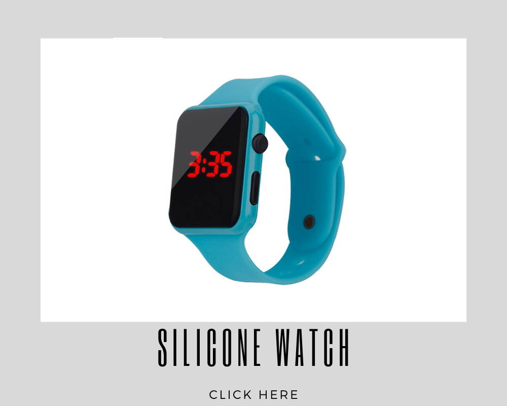 Giveaways Promotional Silicone Watch