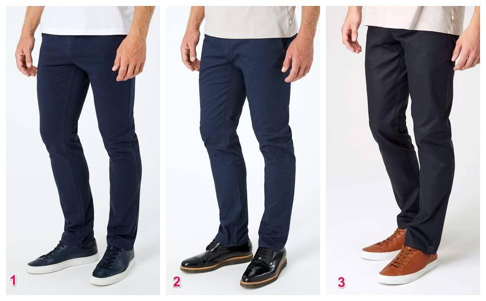 Navy Blue Chino Pants