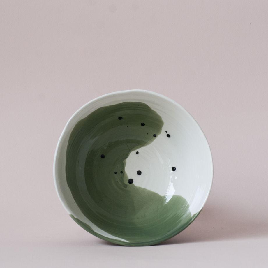 Плошка порционная «Ботаника» (разные цвета)
