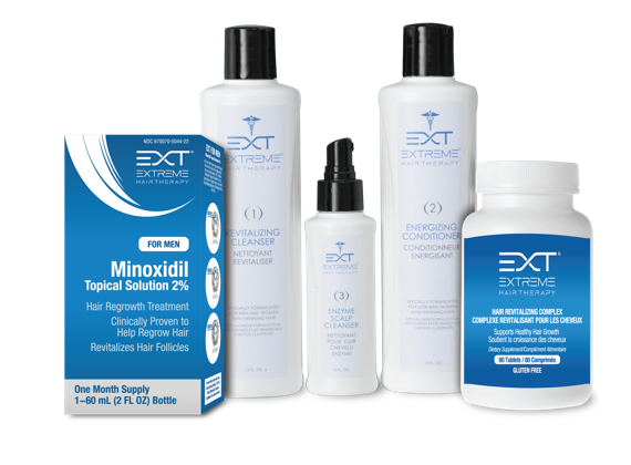 EXT Products for Hair Loss with Minoxidil