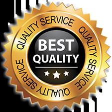 Quality service logo