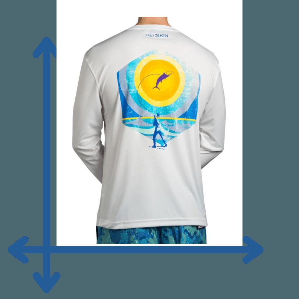 long sleeve shirt sizing details