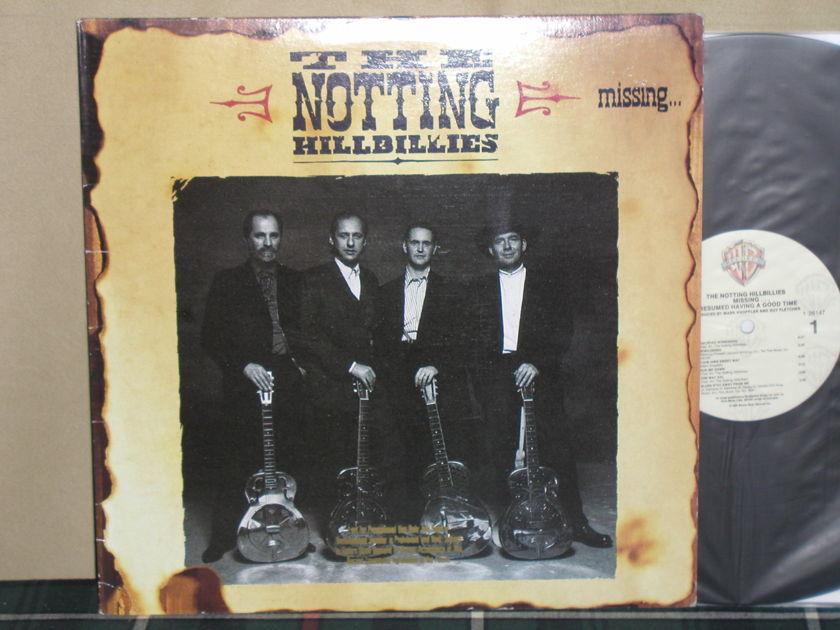 The Notting Hillbillies - Missing...... WB PROMO LP