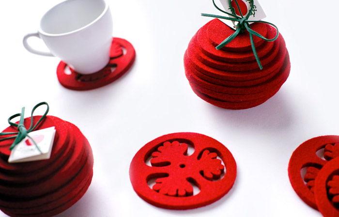 015 Ostaszewska Olszewska Konarska Minasowicz Legajny Tomato Farm table coaster RED DOT