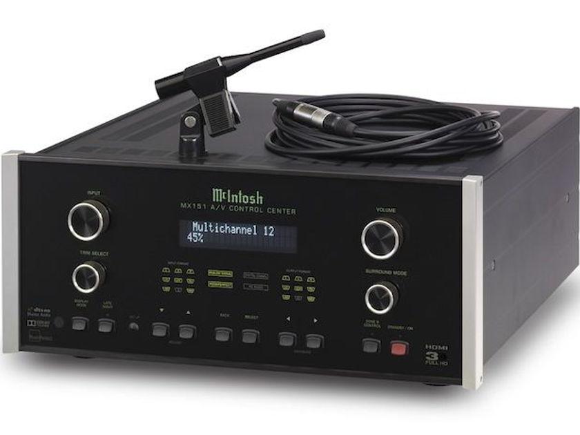 McIntosh MX-151 A/V Control Center - SWEET!