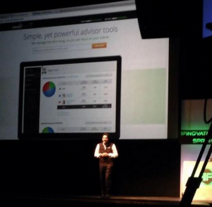 Hardeep Walia used Finovate to tell the crowd that Motif's next iteration is to serve RIAs.