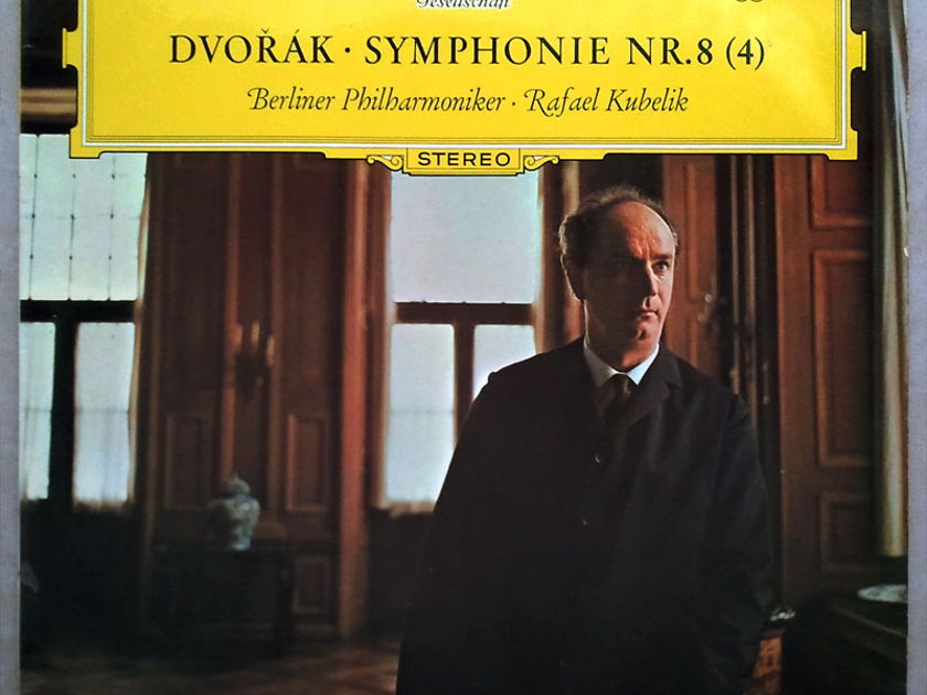 DGG Big Tulips/Kubelik/Dvorak - Symphony No.8 / EX