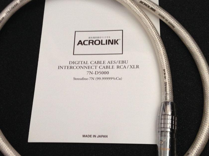 Acrolink 7N-D7000 AES/EBU XLR digital 1m