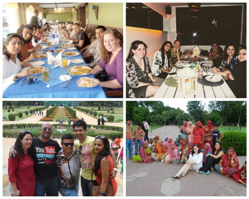 Friends in India, Mysore, Taj Mahal and Jabbalpur