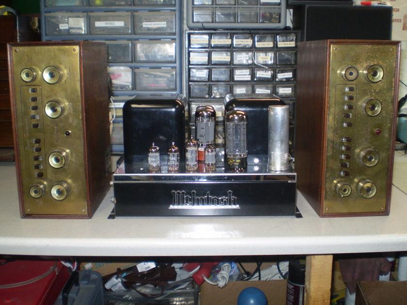 McIntosh MC-30 monoblock amp & two C-8 preamps