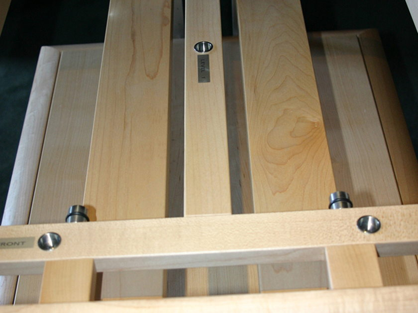 Finite Elemente Pagode Master Reference Hi-Fi 4 Shelf Rack in Maple