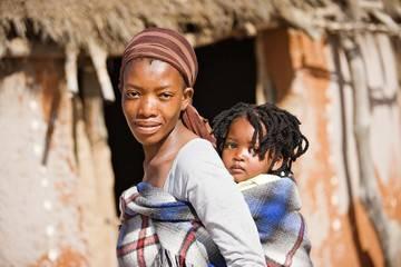 sub saharan african mom