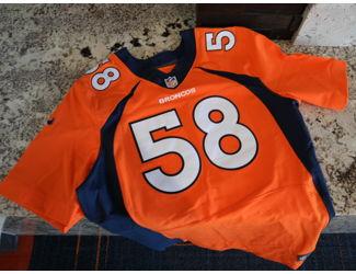save off 25747 04411 Von Miller Autographed Jersey - Denver Broncos NFL Draft ...